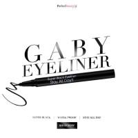GABY Cosmetics Super Black Liner Stay All Day (Black) - Japan Eyeliner
