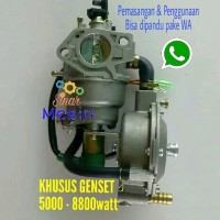 Konverter LPG Genset GX 390 Manual Choke Honda atau mesin China