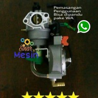 Conversion GAS LPG GENSET 5000watt 8000watt Manual Choke HONDA CHINA