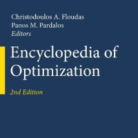 Encyclopedia of Optimization, Second Edition-Christodoulos A. Floudas