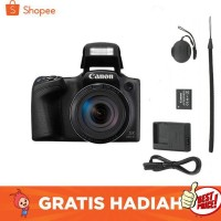 Kamera Canon Powershot SX430 IS Digital Camera - Free Memory 16 GB Dan