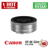Lensa Canon EF-M 22MM F2 New Garansi 1Th
