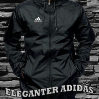 Jaket waterproof adidas black