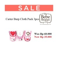 Carter Burp Cloth Pack 3pcs