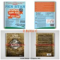 PAKET 2 BUKU C SPMB PKN STAN 2019 BONUS SOAL STAN 1999-2017 (TERMURAH)