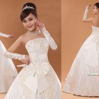 Gaun Pengantin Import Prewedding Wedding Dress GI-888124 terbaru