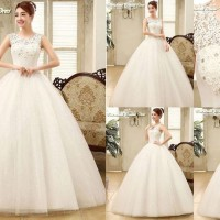 Gaun Pengantin Import Prewedding Wedding Dress GI-888122 terbaru