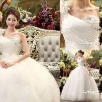 Gaun Pengantin Import Prewedding Wedding Dress GI-888123 terbaru