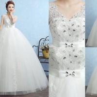 Gaun Pengantin Import Prewedding Wedding Dress GI-888125 terbaru