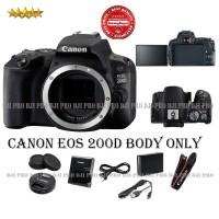 Canon EOS 200D WIFI Bodi Only - Kamera DSLR Canon BODY - BO