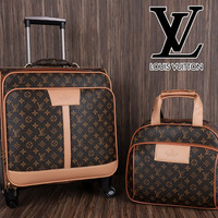 tas Koper Louis Vuitton set