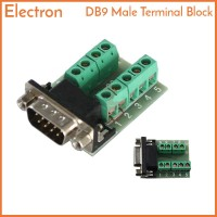 DB9 Male to Terminal Block Header Adapter RS-232 RS232
