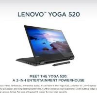 LENOVO YOGA 520 # i5-8250 14TOUCH 8GB VGA2GB W10 !!
