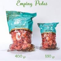Kacang Emping Pedas Lokal Snack Karunia 180gr