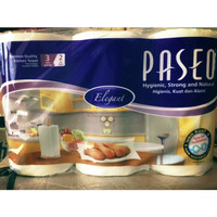 TISSUE PASEO ELEGANT KITCHEN TOWEL 3IN1 / TISSUE DAPUR / TISSUE MINYAK
