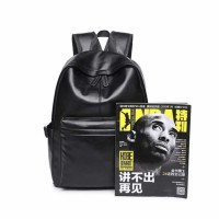 AbleMe Tas Ransel Korean Style PU Leather Backpack