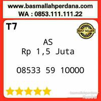 Nomor Cantik Telkomsel AS Seri Kwartet 0 0000 08533 59 10000 T7e