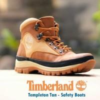 SEPATU CASUAL BOOTS TIMBERLAND TEMPLETON SERIES TAN UJUNG BESI a14edef218