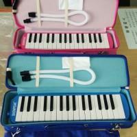 Pianika SNOWPEAK Hard Case - BIRU / Alat musik tiup tas kokoh original