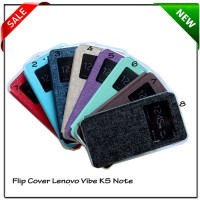 Flip Cover Softcase Lenovo Vibe K5 Note