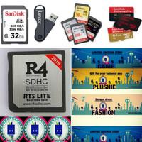Memory Nintendo DS LITE/2Ds/3Ds 32 GB FULL GAME dan R4 dan CD SOFTWARE
