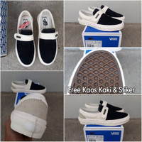 48fb3e754fa1af Sepatu Vans Slip-On 47 V DX (Fear Of God) Black Off White