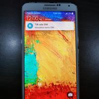 Samsung galaxy note 3 second eks garansi SEIN