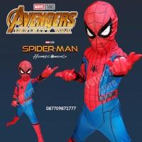 TERLARIS Kostum Spiderman Homecoming anak baju ulang tahun laki ultah
