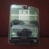 Jeep cj5 black bandit greenlight non datsun bluebird 510 hotwheels