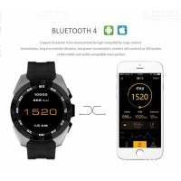 No1 Smartwatch Fitness Tracker Casual - G5 - Hitam