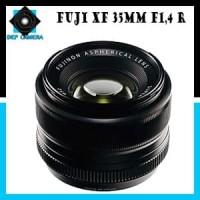 Lensa Fuji - Fujinon XF 35mm F1.4 R Lens - Black