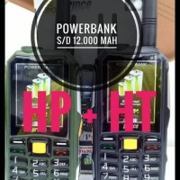 Hp Bisa Ht Prince Pc10 Pc-10 Powerbank 12.000 (Brandcode B68 Aldo 007)