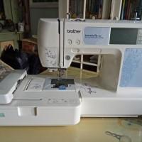 Mesin Bordir Brother NV90E (demo set)