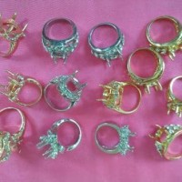 Best Cincin / Ring / Emban Batu Akik Rodium