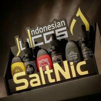 Salt nic indonesian juice Elite bacco coffee culture - alphonso mango
