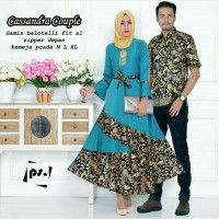 Couple batik gamis