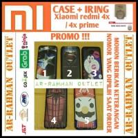 CASING HP - XIAOMI REDMI MI 4X PRIME CASING CASE COVER ARMOR MOTIF