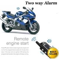Alarm Motor Remote Starter Master Racing 2 Way Pager Two Way Garansi!