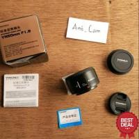 lensa fix yongnuo 50mm f1.8 for kamera DSLR canon tajem bokeh