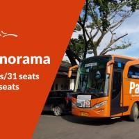 Sewa Big Bus Pariwisata PANORAMA - Bandung, Ciwidey, Anyer (18 Jam)