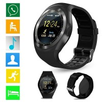 Smartwatch Jam Tangan Pintar HP Bulat WATERPROOF ANTI AIR Telepon Sms