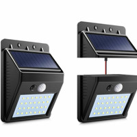 Lampu LED sensor matahari solar powered LED wall light