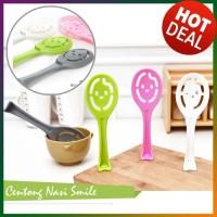 Centong Sendok Nasi Bubur Sayur Bentuk Smile alat makan - HPD147