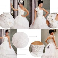 Gaun Pengantin Import Prewedding Wedding Dress GI-88811 terbaru