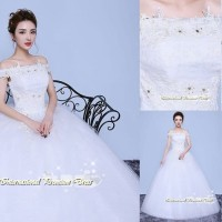 Gaun Pengantin Import Prewedding Wedding Dress GI-888127 terbaru