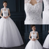 Gaun Pengantin Import Prewedding Wedding Dress GI-888130 terbaru