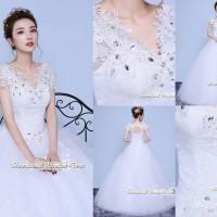 Gaun Pengantin Import Prewedding Wedding Dress GI-888126 terbaru