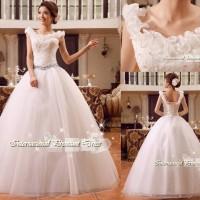 Gaun Pengantin Import Prewedding Wedding Dress GI-888129 terbaru