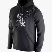 Jaket Hoodie Sweater Jumper Nike Baseball Chicago White Sox Jersey