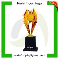 Piala/Trophy Mini Figur Tugu 30cm